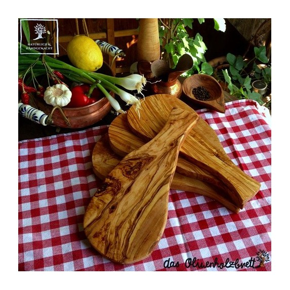4 pcs natural cutted olivewood board