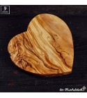 Cutting board heart shaped