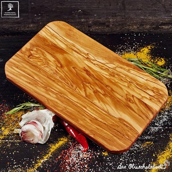 2 x Breakfast olivewood boards , glued