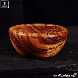 olive wood bowl round edge