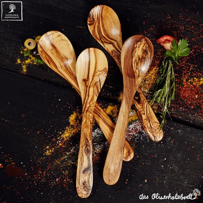 Spoon set, four parts