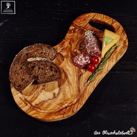 carving board with jus groove and handle
