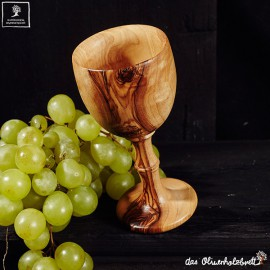Handmade turned  wine cup or goblet