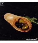 Bowl for olive fruits, olive wood