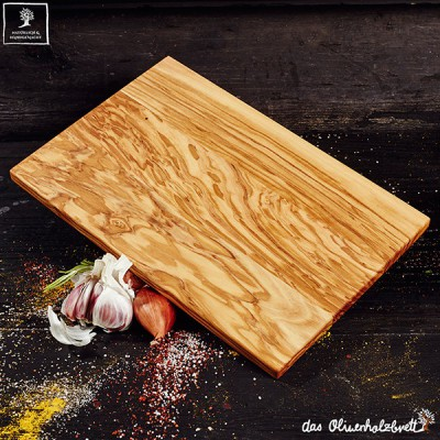 Breakfast or cutting board olive wood , thin version