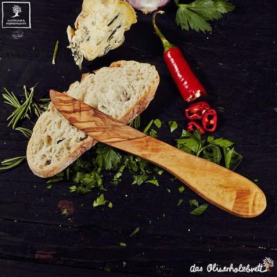 Buttermesser aus Olivenholz