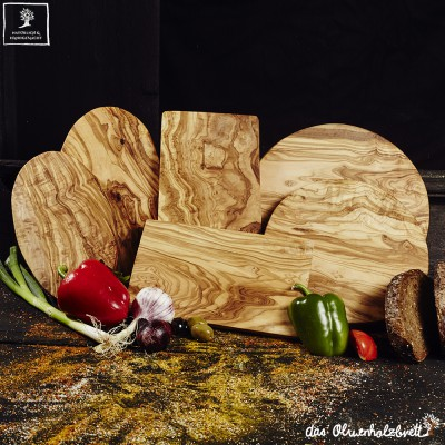 Olive wood shop for resellers: chopping boards, bowls, & more